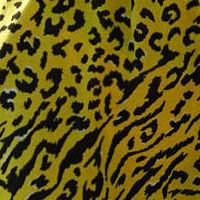 Sukienka Plażowa w Cętki Cougar Lime Marilyn