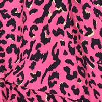 Sukienka Plażowa w Cętki Cougar Pink Marilyn