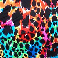 Usztywniany biustonosz kąpielowy Push-up w cętki Bahamas 2 multicolour